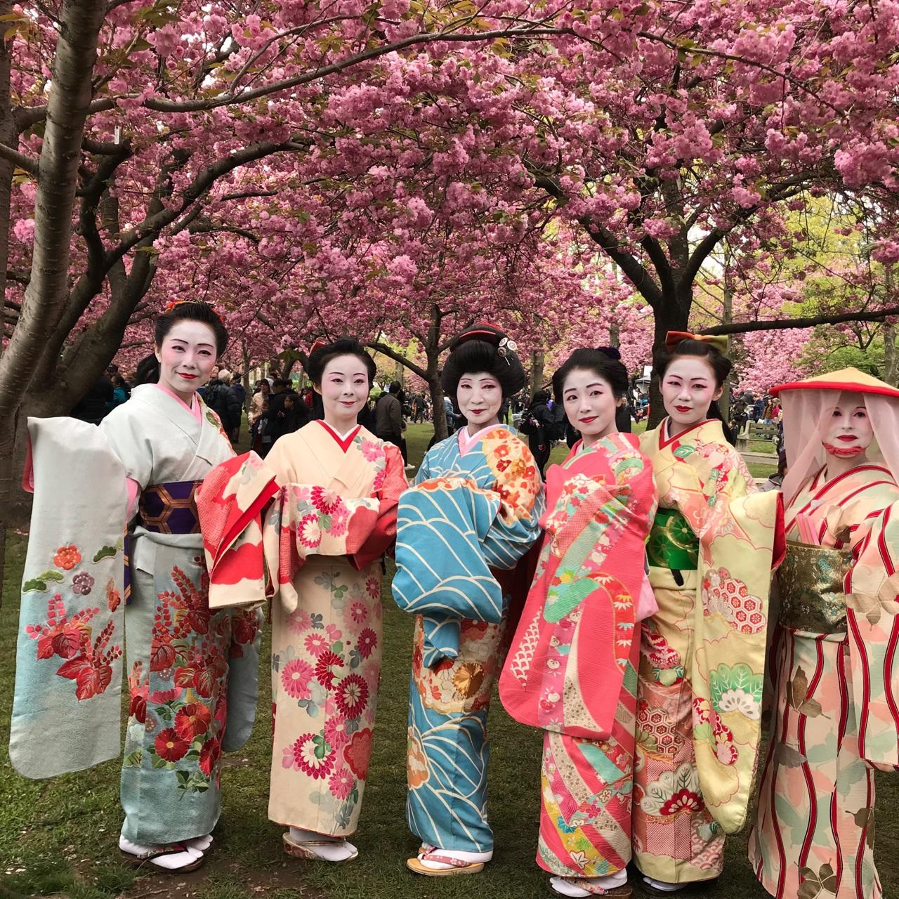 Sakura Matsuri 2019 5 dancers